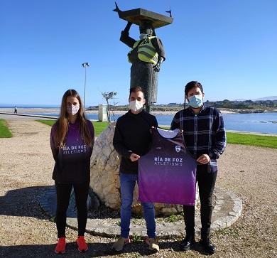 Simón Río únese ao Club de Atletismo 'Ría de Foz'