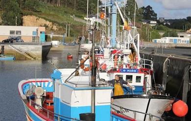 A Xunta achega 130.000 euros ás confrarías de pescadores de Celeiro, Burela e O Vicedo para modernizar o seu equipamento