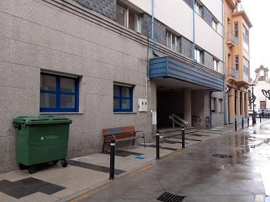 O Alcalde de Ribadeo propón a instalación dunha carpa diante do centro de saúde para que as persoas que acudan a realizar analíticas non teñan que agardar á intemperie nos meses de inverno
