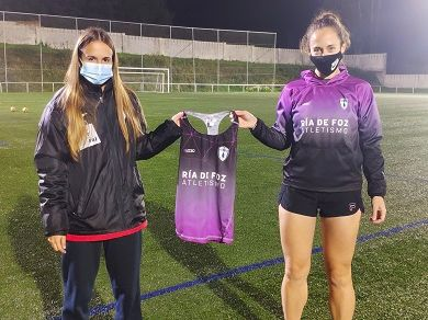 Carla Trillo incorpórase ao Club de Atletismo 'Ría De Foz'