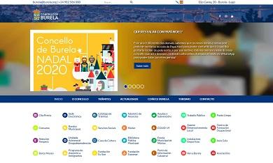 O Concello de Burela lanza unha nova web, máis accesible e que mellora a experiencia do usuario