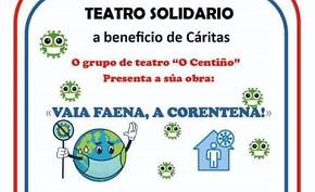 Función solidaria do Grupo Teatral