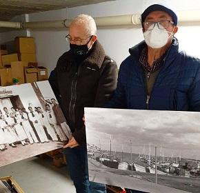 O Concello de Foz cede fotos para o Museo do Mar local