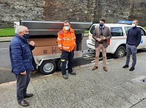 A Xunta dotou de equipamento de emerxencias aos concellos de Viveiro e O Vicedo, que este mércores recibiron dúas tendas de campaña destinadas ás Agrupacións de Voluntarios de Protección Civil