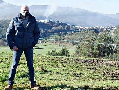 O delegado do Goberno en Galicia comprometeuse co Alcalde de Foz a impulsar o terceiro acceso á vila e a construción de rotondas en Cangas