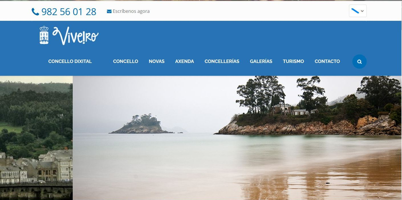 O BNG  de Viveiro pide transformar a páxina web do Concello nun servizo público transparente e actualizado