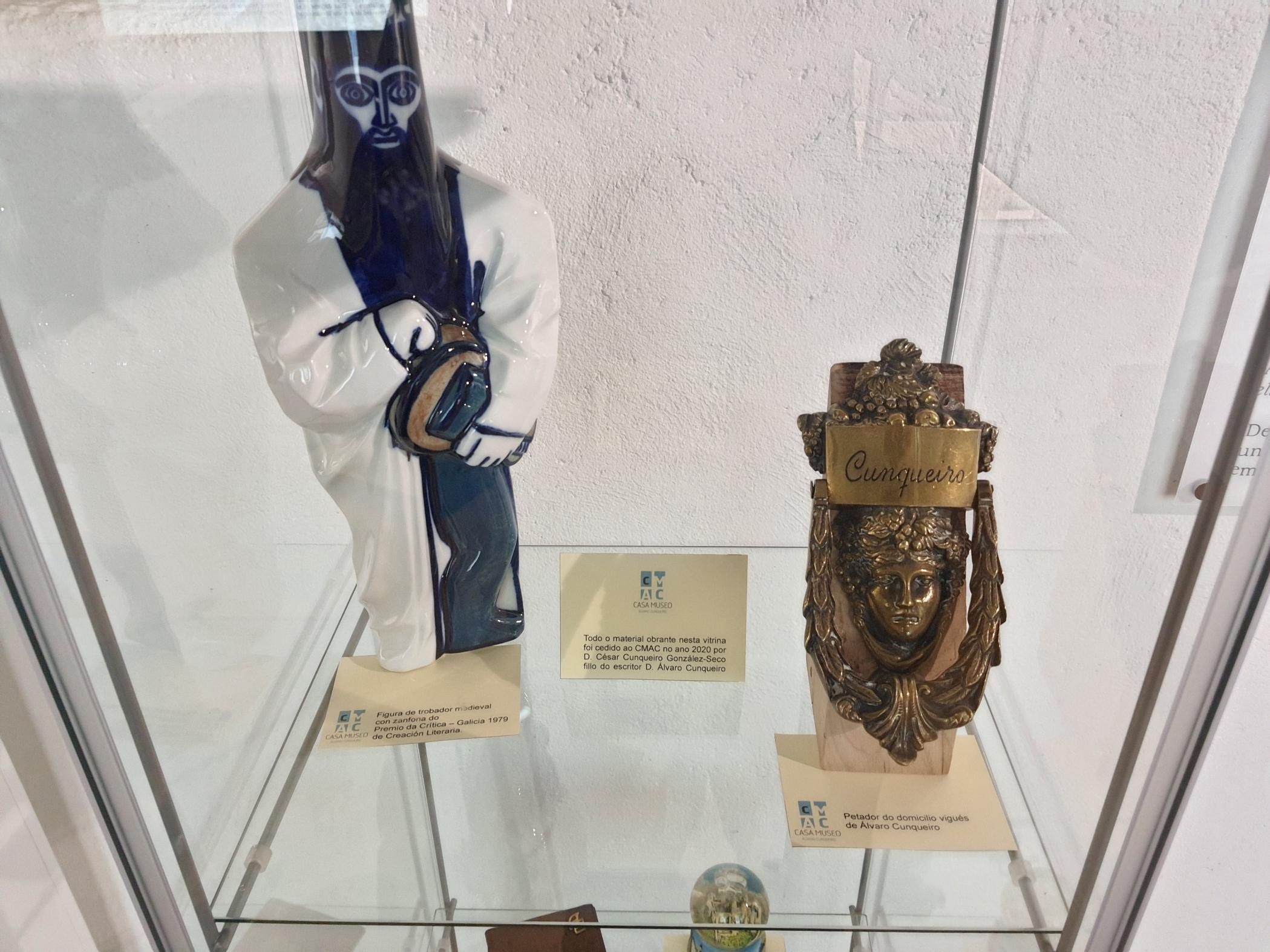 Novo material en exposición na Casa Museo Álvaro Cunqueiro