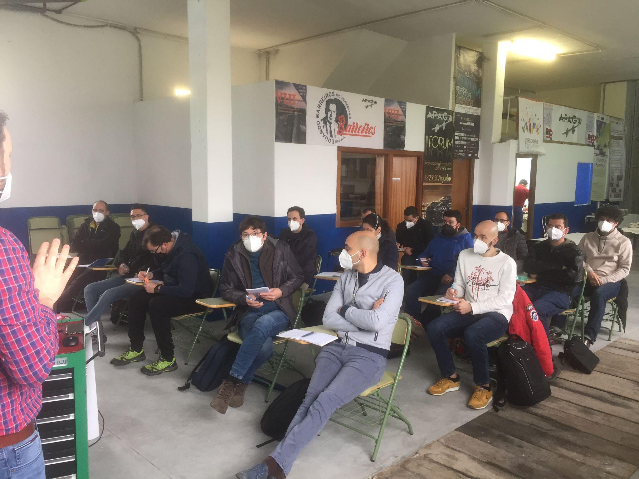 Ribadeo foi escenario do primeiro curso de elaboración de programacións didácticas para oposicións de FP, que organizou Apaga