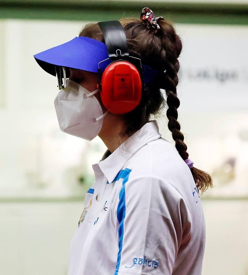 Medalla de prata sub23 e bronce en Elite Mulleres Para Yolanda Rodríguez en tiro olímpico