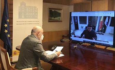 Javier Losada compromete o impulso do Goberno ao terceiro acceso ao núcleo urbano de Foz, a través da  N-642