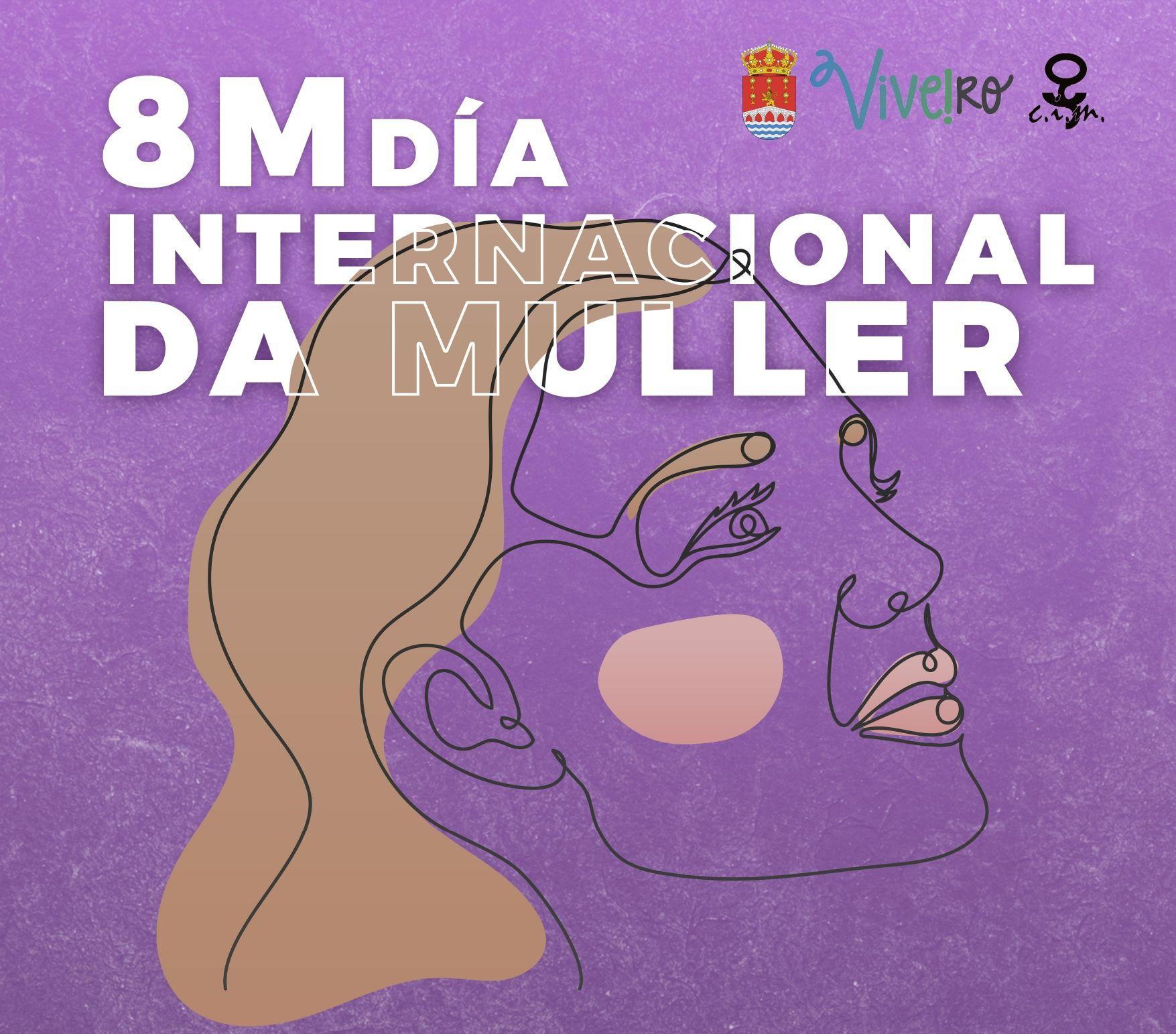 """O Concello de Viveiro presenta as actividades do 8M cun chamamento """"á unidade na loita pola igualdade entre mulleres e homes"""""""