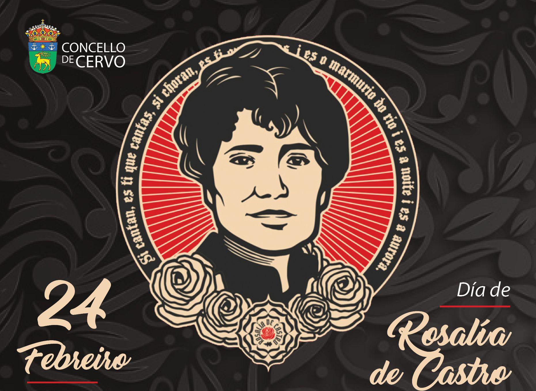Día de Rosalía no Concello de Cervo