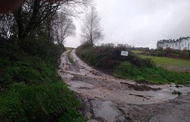 """O PP de Xermade urxe ao goberno local a solicitar axudas para a mellora de camiños xa que """"nin os conserva nin recolle unha partida para o seu arranxo nos orzamentos do 2021"""""""
