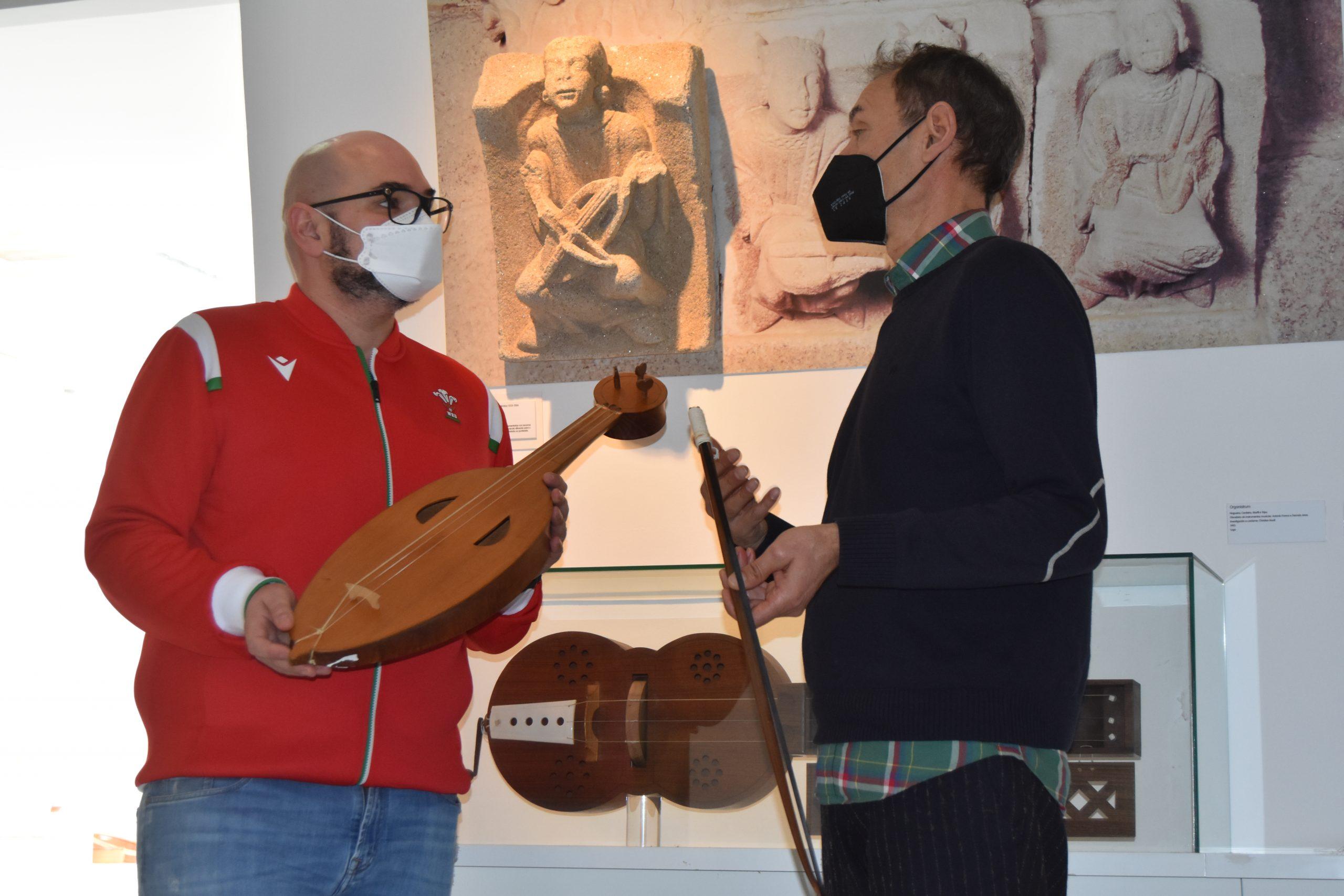 A Vicepresidencia pon en valor o patrimonio musical medieval cunha mostra itinerante que viaxará polos concellos a partir de maio