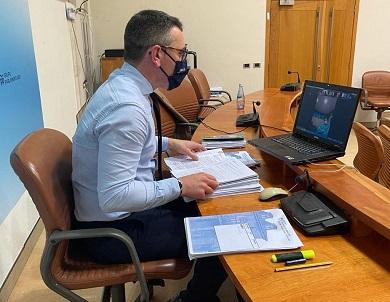 Daniel Vega urxe ao goberno local a que envíe os datos para a vacinación do SAF de Ribadeo e, se xa o fixo, que a Fegamp lla traslade canto antes á Xunta
