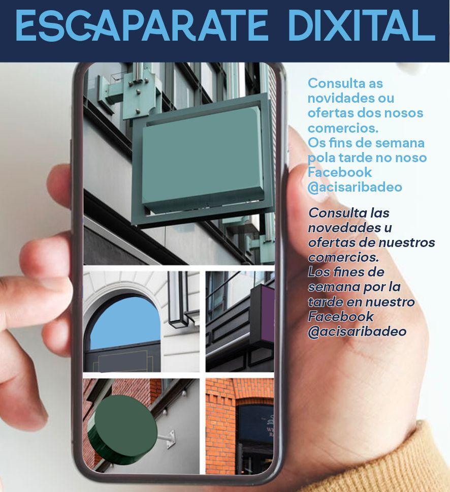 Acisa crea o escaparate e o menú dixital, dous novos servizos cos que pretende facer publicidade e promoción gratuíta dos seus socios nas redes sociais