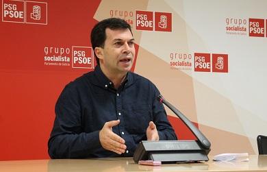 Gonzalo Caballero en Burela