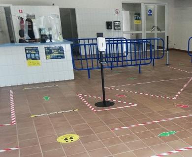 Reapertura das instalacións deportivas en Cervo