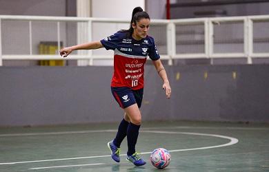 A internacional brasileira Luísa Mayara reforza as tricampioas