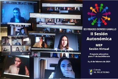 Catro alumnas do IES Ribadeo Dionisio Gamallo participaron na II Sesión Autonómica do Modelo de Parlamento Europeo
