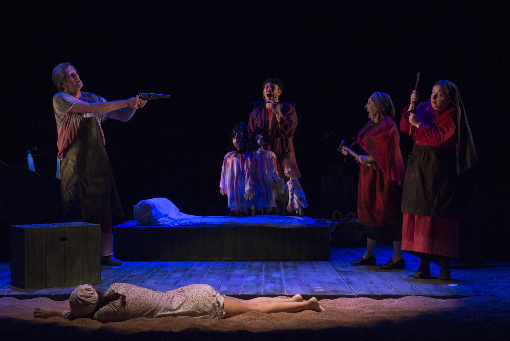 Teatro Noroeste trae este sábado 6 ao Pastor Díaz 'Da avaricia, a luxuria e a morte'