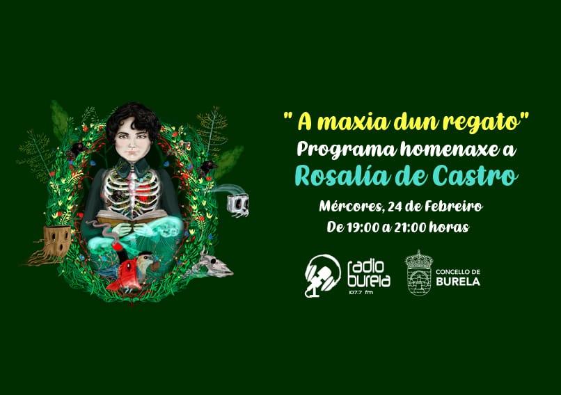 Burela celebra o Día de Rosalía cun programa especial de radio