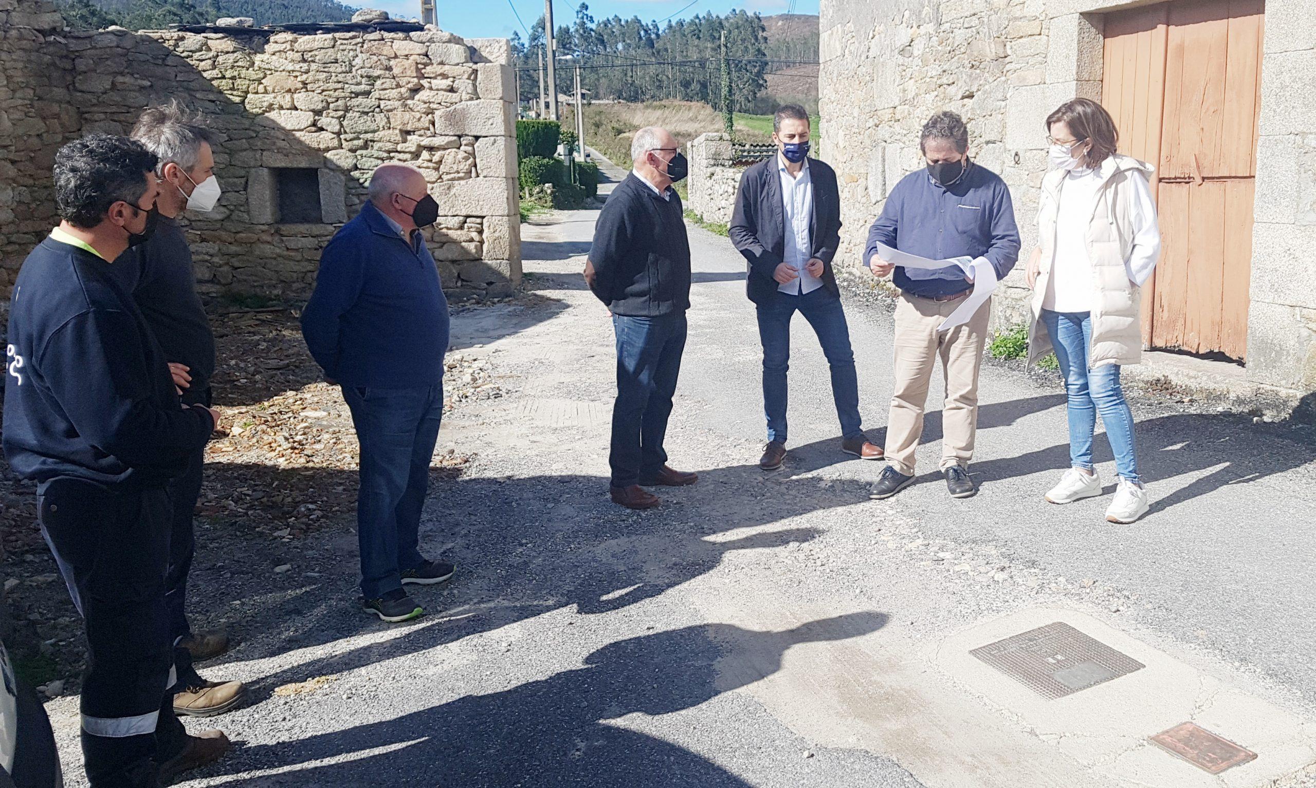 O Concello de Cervo investirá preto de 50.000 euros para levar o sanemento ao núcleo de Santomé, en San Román
