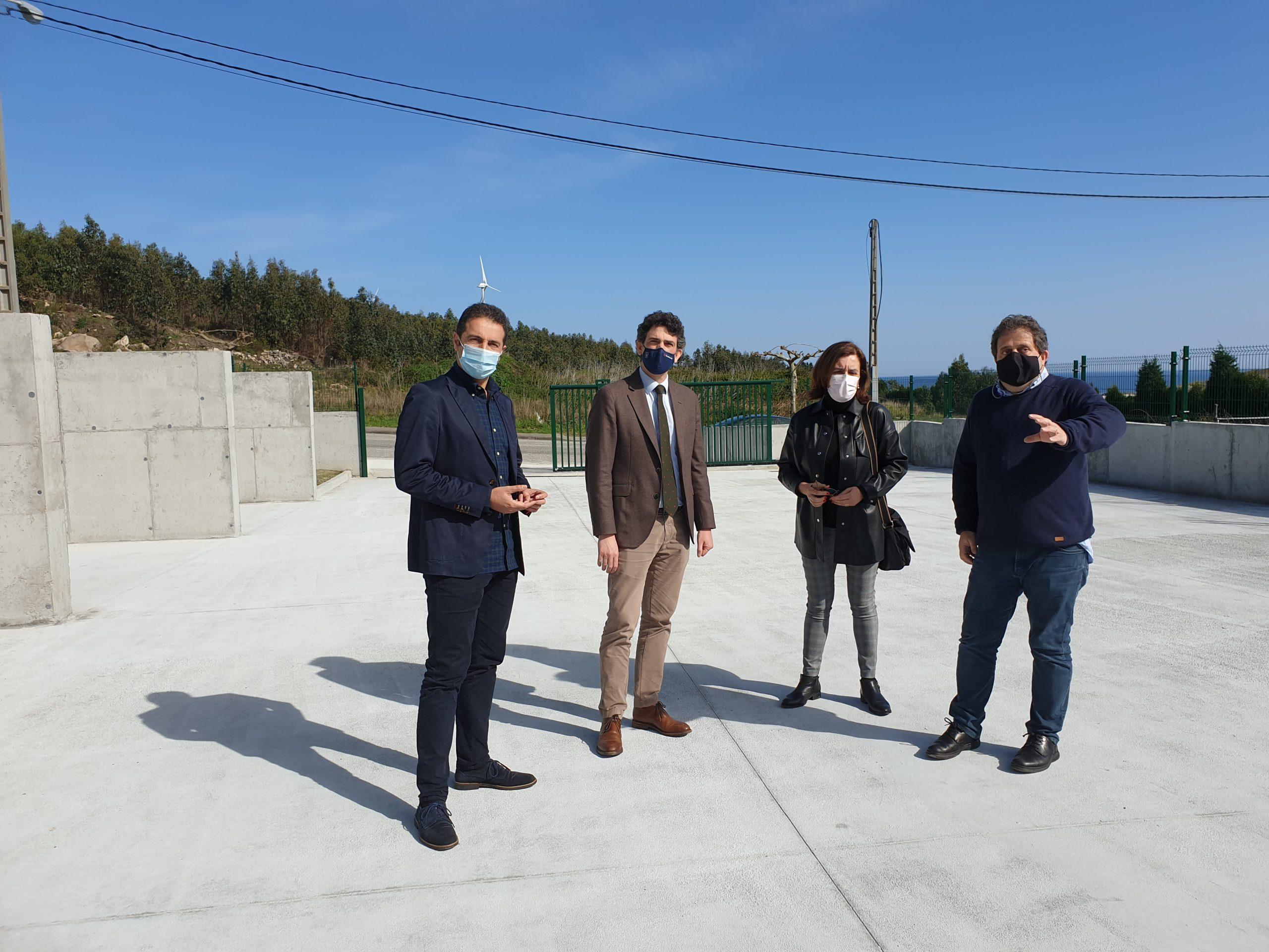 O rexedor, Alfonso Villares, agradece o investimento feito pola Xunta de Galicia no Polígono de Cuíña