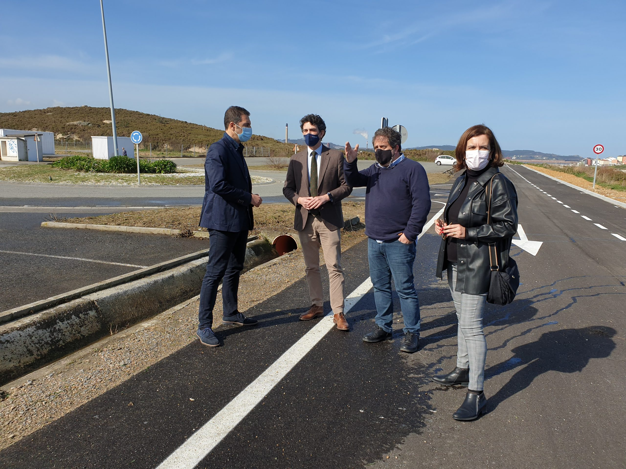 A Xunta destina 231.000 euros a habilitar un punto de recollida de residuos e o acceso á edar no polígono industrial de Cuíña, en Cervo