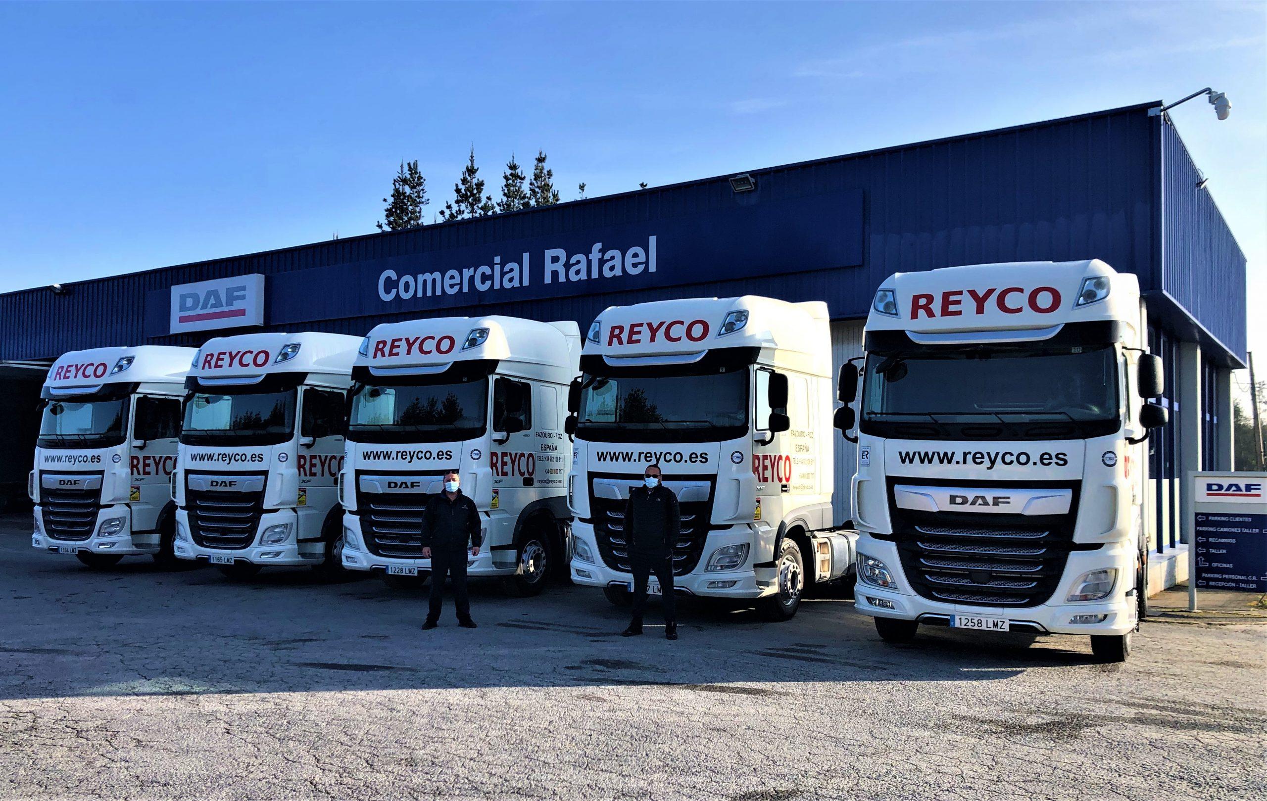 20 novos camións para superar os 200 empregos directos en REYCO
