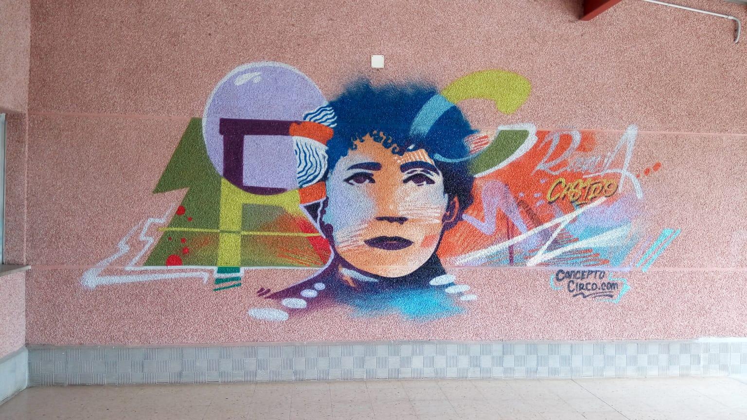 Homenaxe a Rosalía en Lourenzá cun mural e teatro infanil