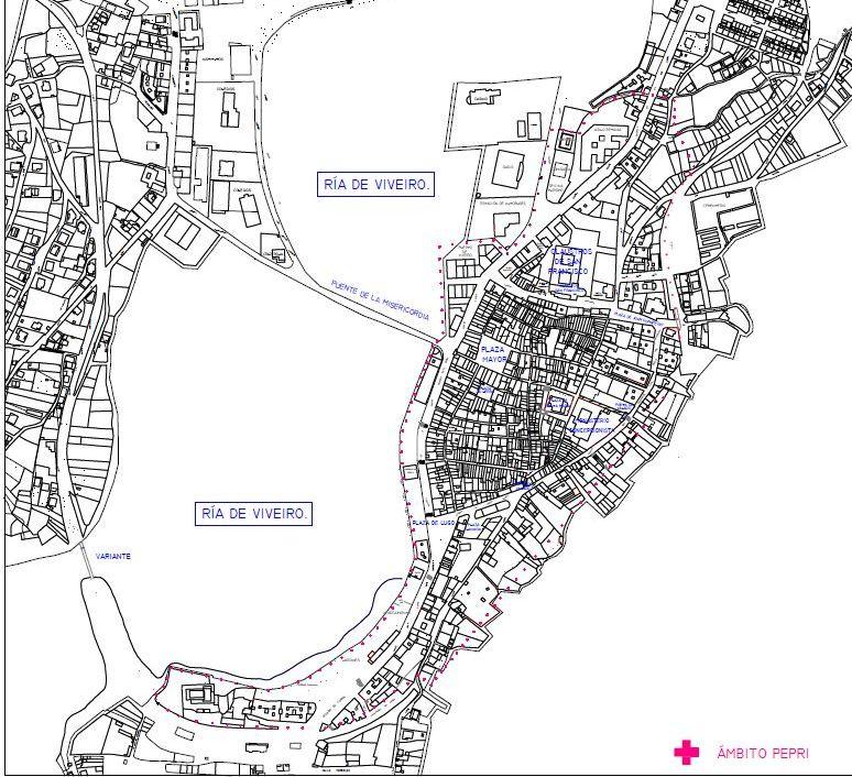 Xa están aquí as axudas autonómicas para a adquisición de vivendas no casco histórico de Viveiro