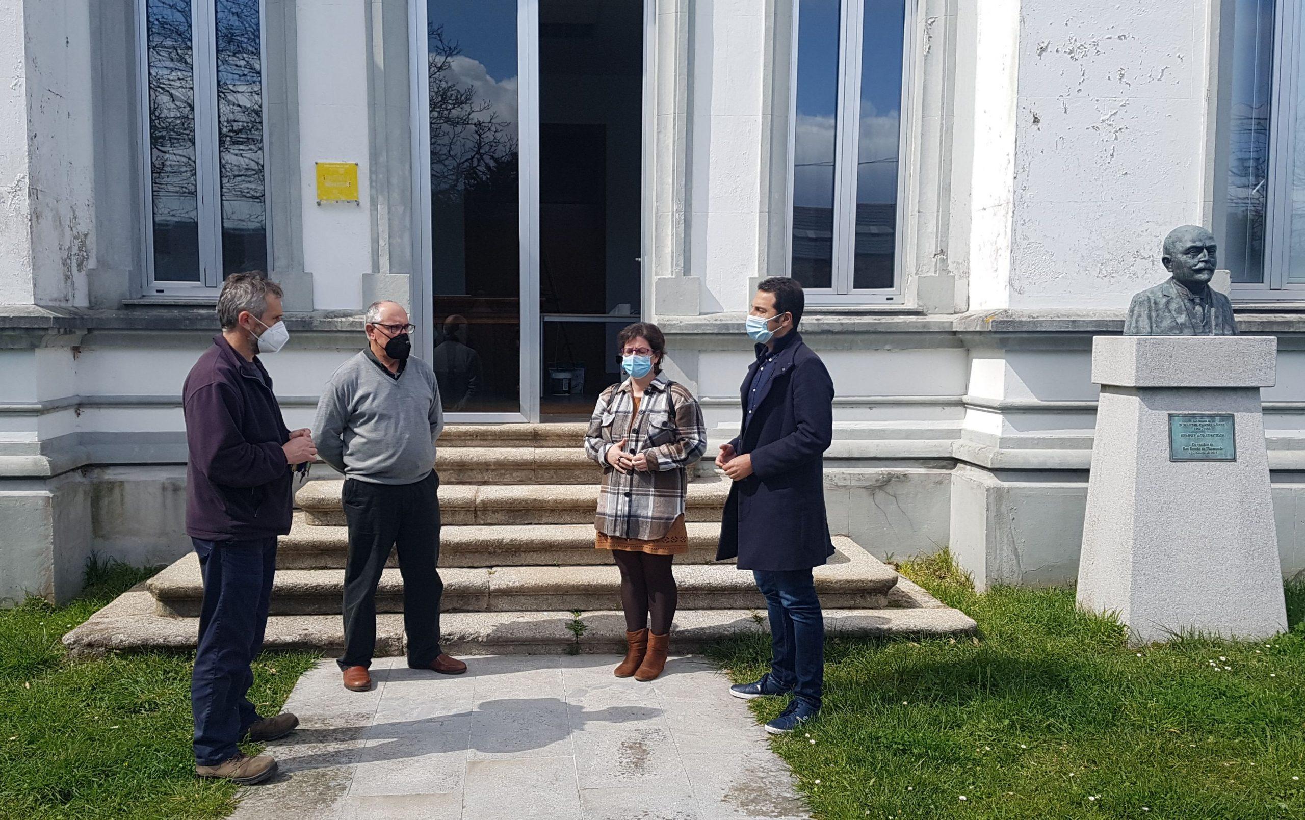 Acondicionadas as Escolas Vellas de San Román como Centro Cultural