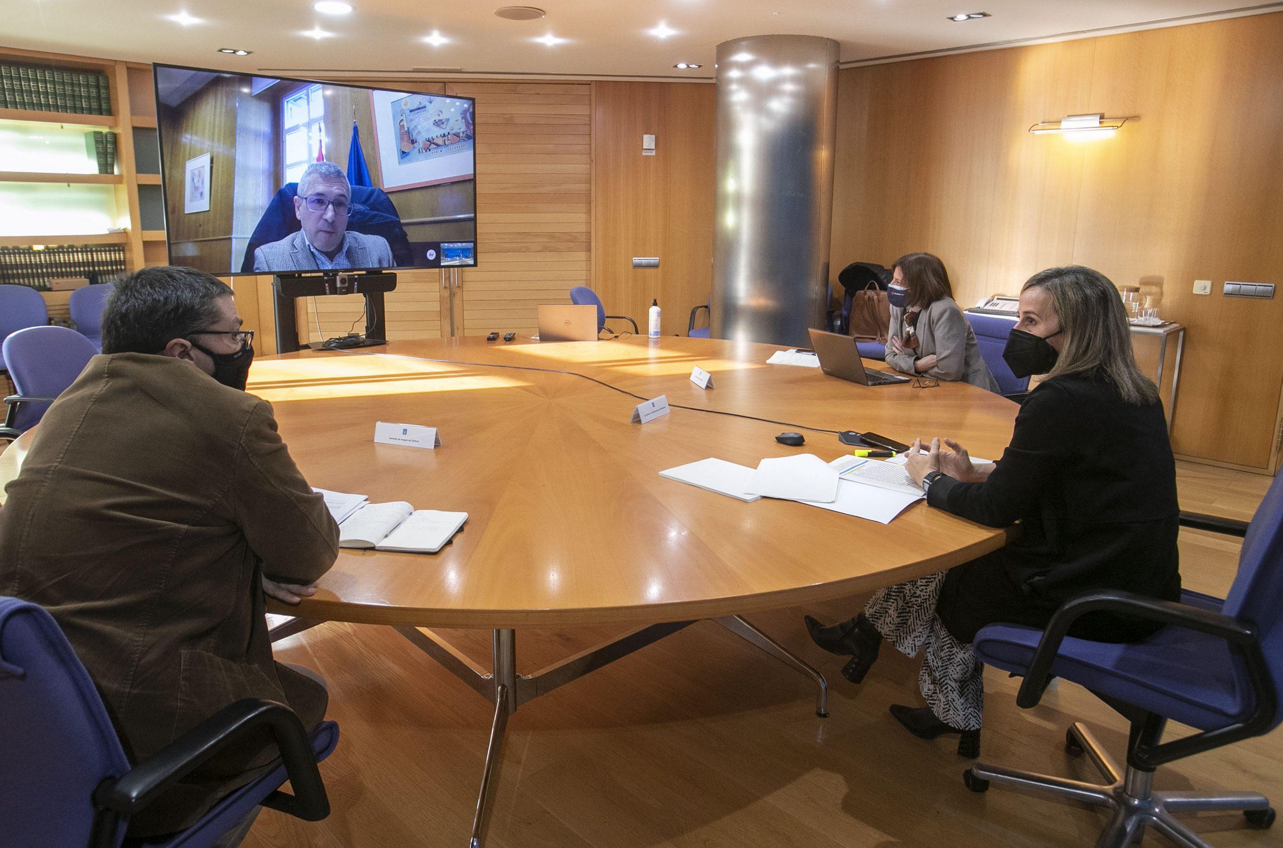 A Xunta pide a Madrid trámites sinxelos para obras de saneamento en Foz, Viveiro ou Burela