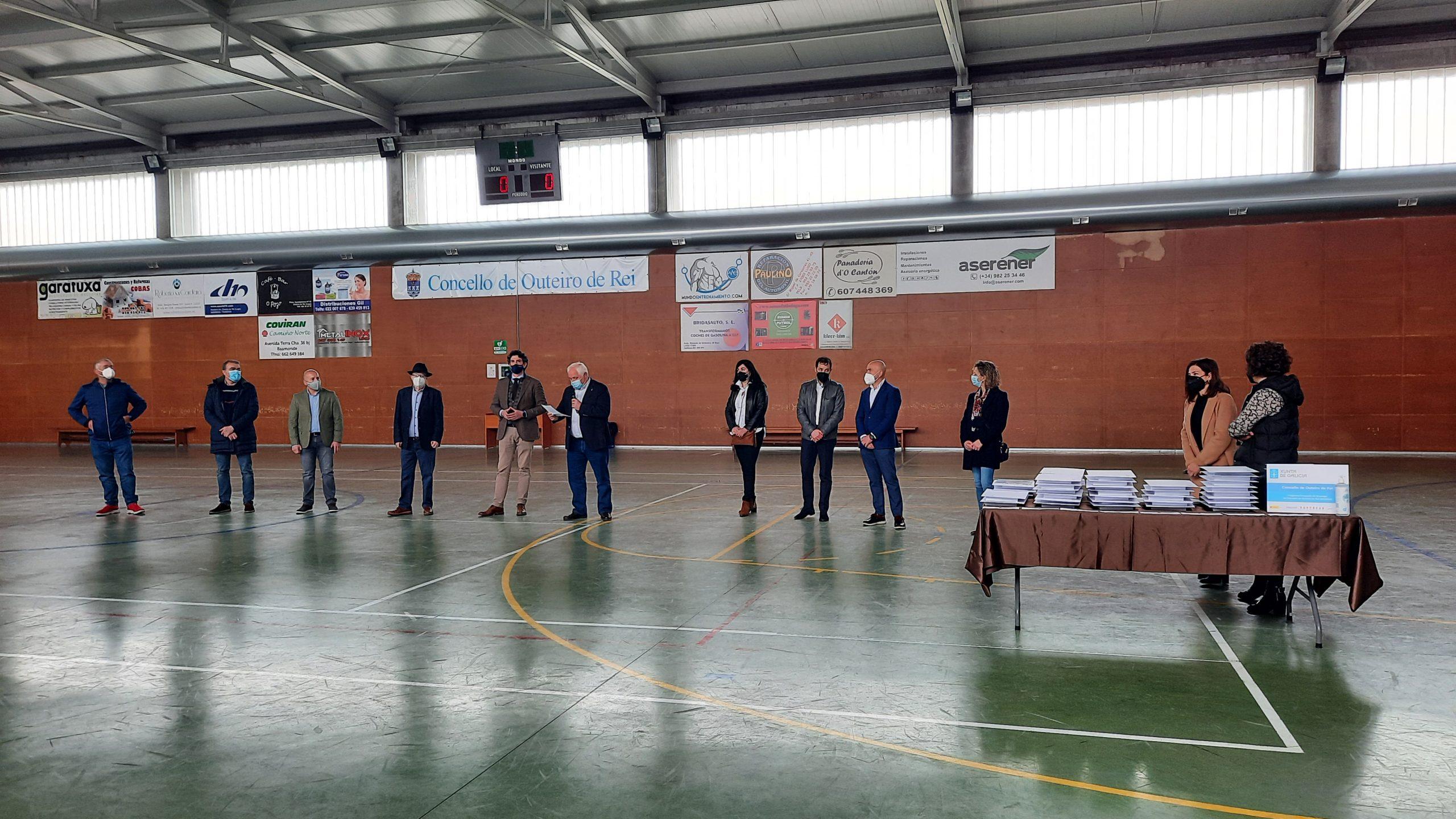 Un programa impulsado pola Xunta con 300.000 euros serviu para formar no último ano a 100 persoas desempregadas de oito concellos lucenses, entre eles Mondoñedo