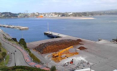 Portos de Galicia destina 550.000 euros a melloras no peirao de Ribadeo e proxecta unha dragaxe plurianual de 3,8 millóns