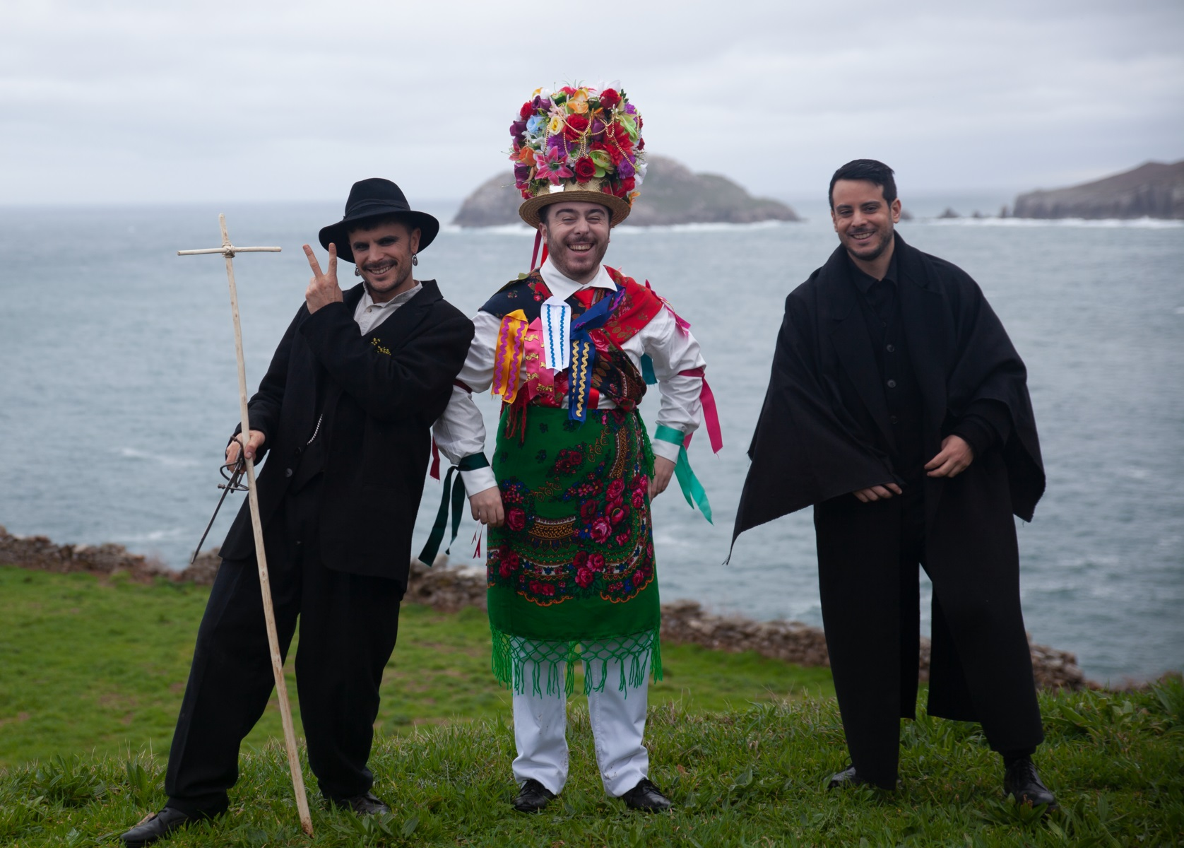Xove, escenario de Veleno, o último videoclip de Baiuca