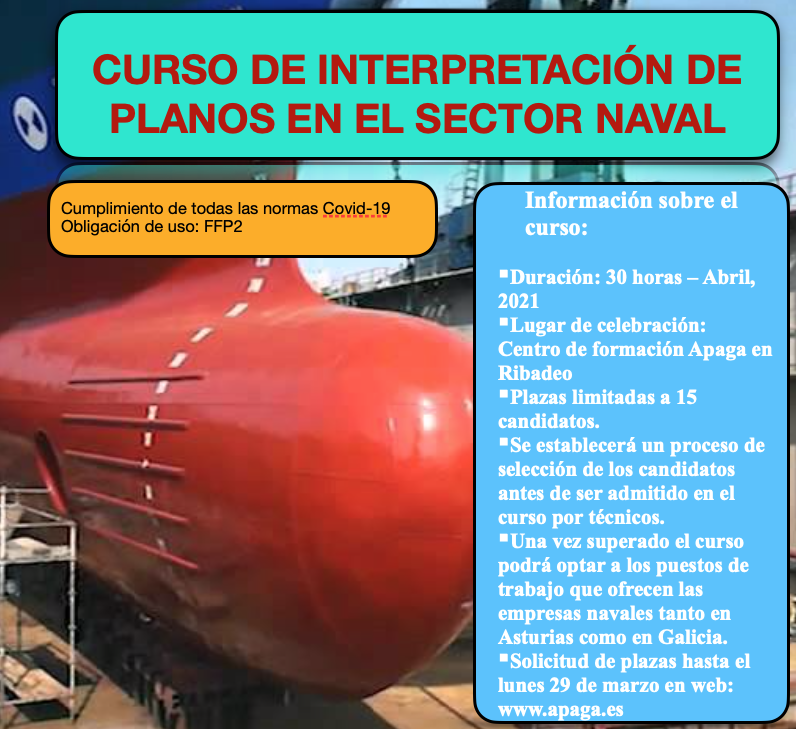 Curso para o sector naval organizado por Apaga