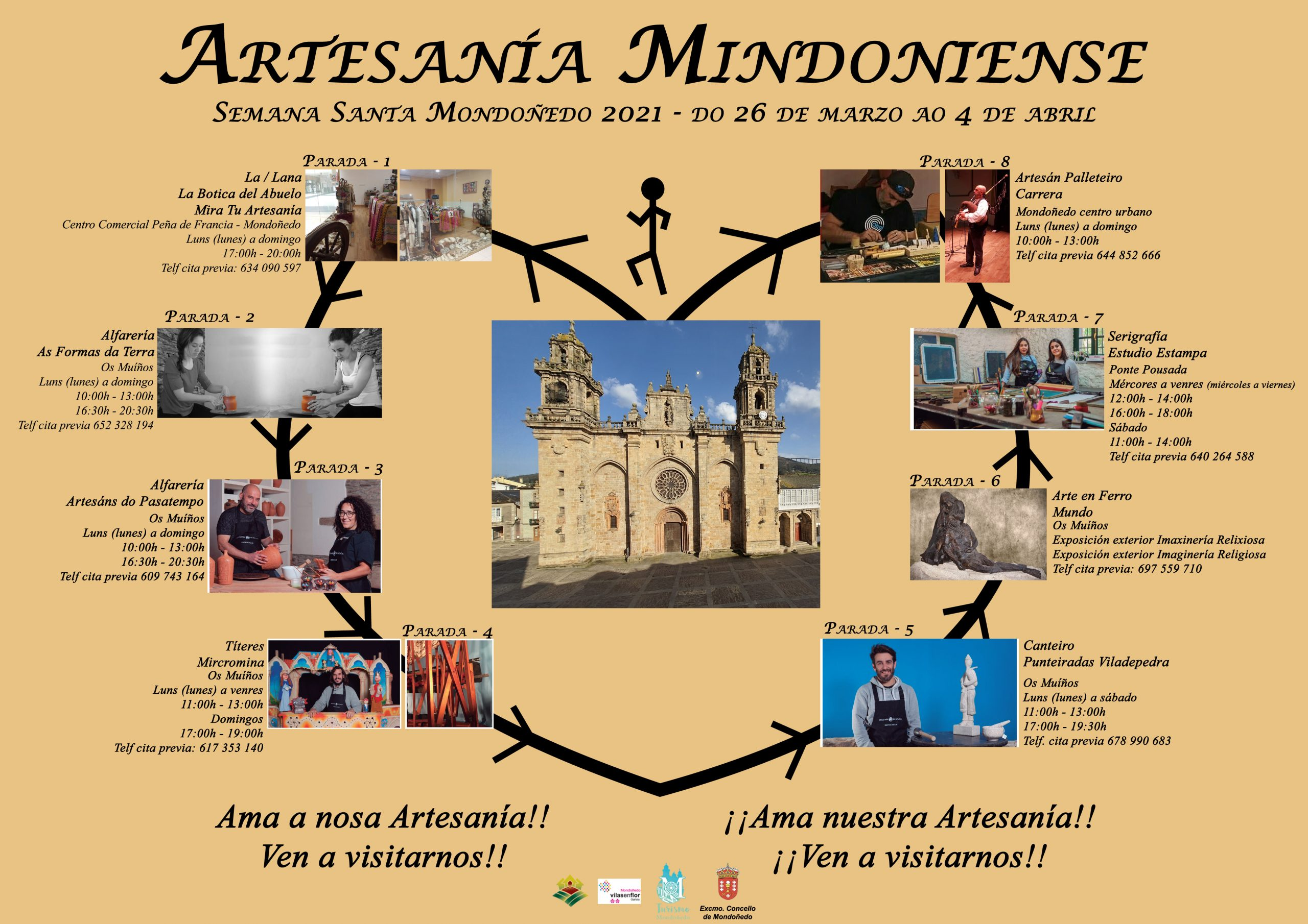 Artesanía e saber tradicional, a proposta de Mondoñedo para esta Semana Santa