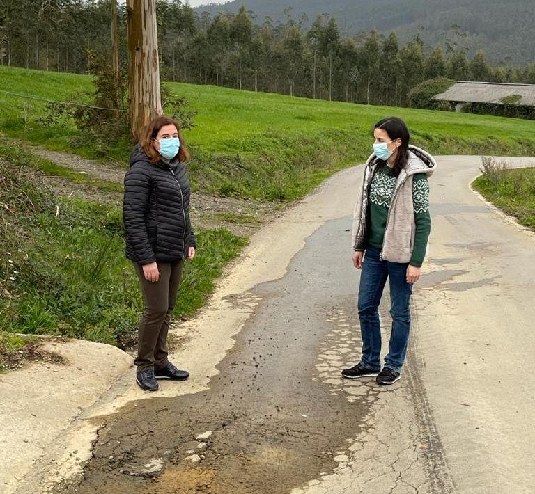 O PP observa pouca planificación e escaso orzamento para o arranxo de pistas do rural ribadense