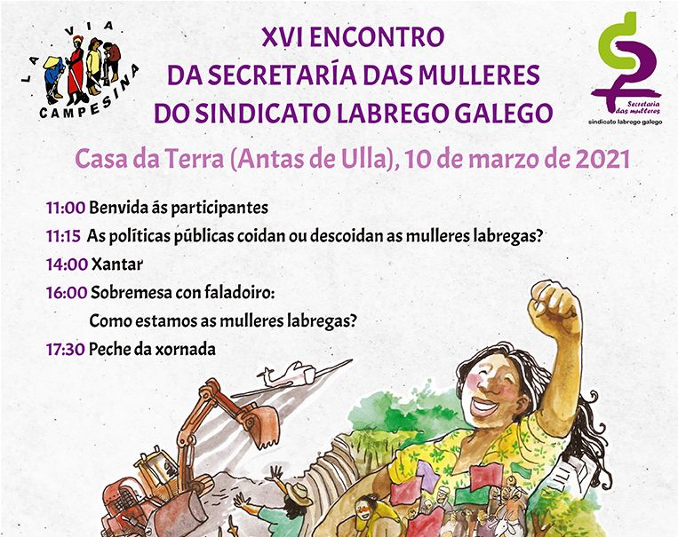 A Secretaría das Mulleres do SLG afronta en folga un novo 8 de marzo constatando o empeoramento da igualdade no agro e no rural