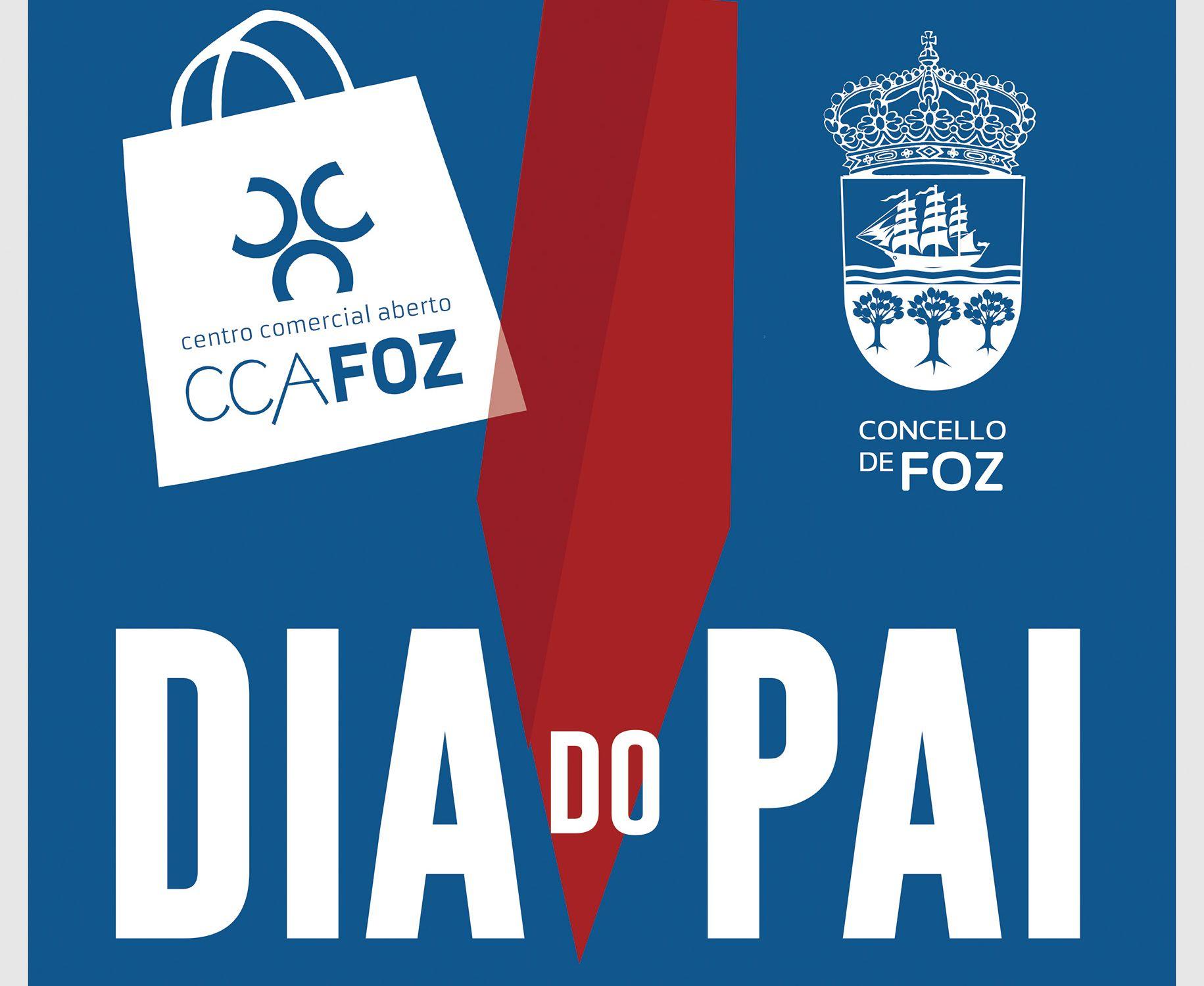 AciaFozCCA sorteará 1.000 euros na súa campaña do Día do Pai, que se desenvolverá do 5 ao 19 de marzo