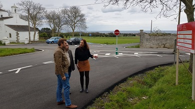Os socialistas de Ribadeo demandan que se melloren as estradas da Madanela e a da costa
