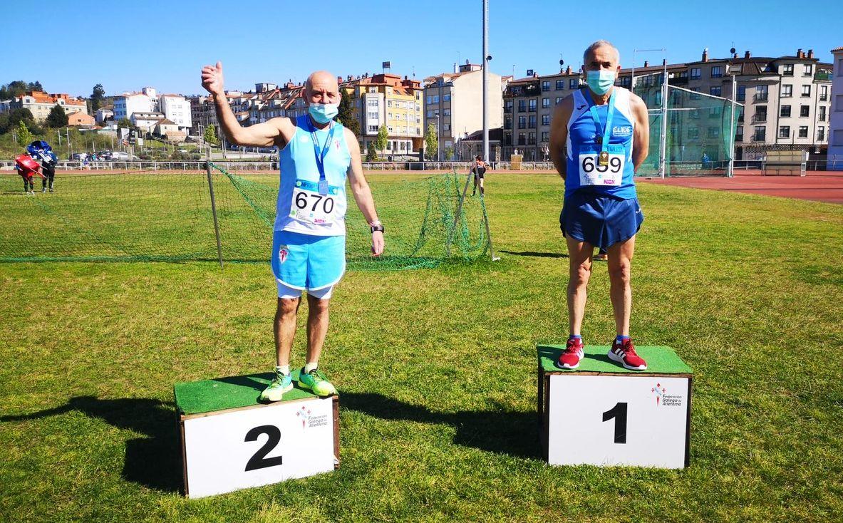 4 medallas de ouro no Campeonato galego de veteráns de Fondo para o Egovarros