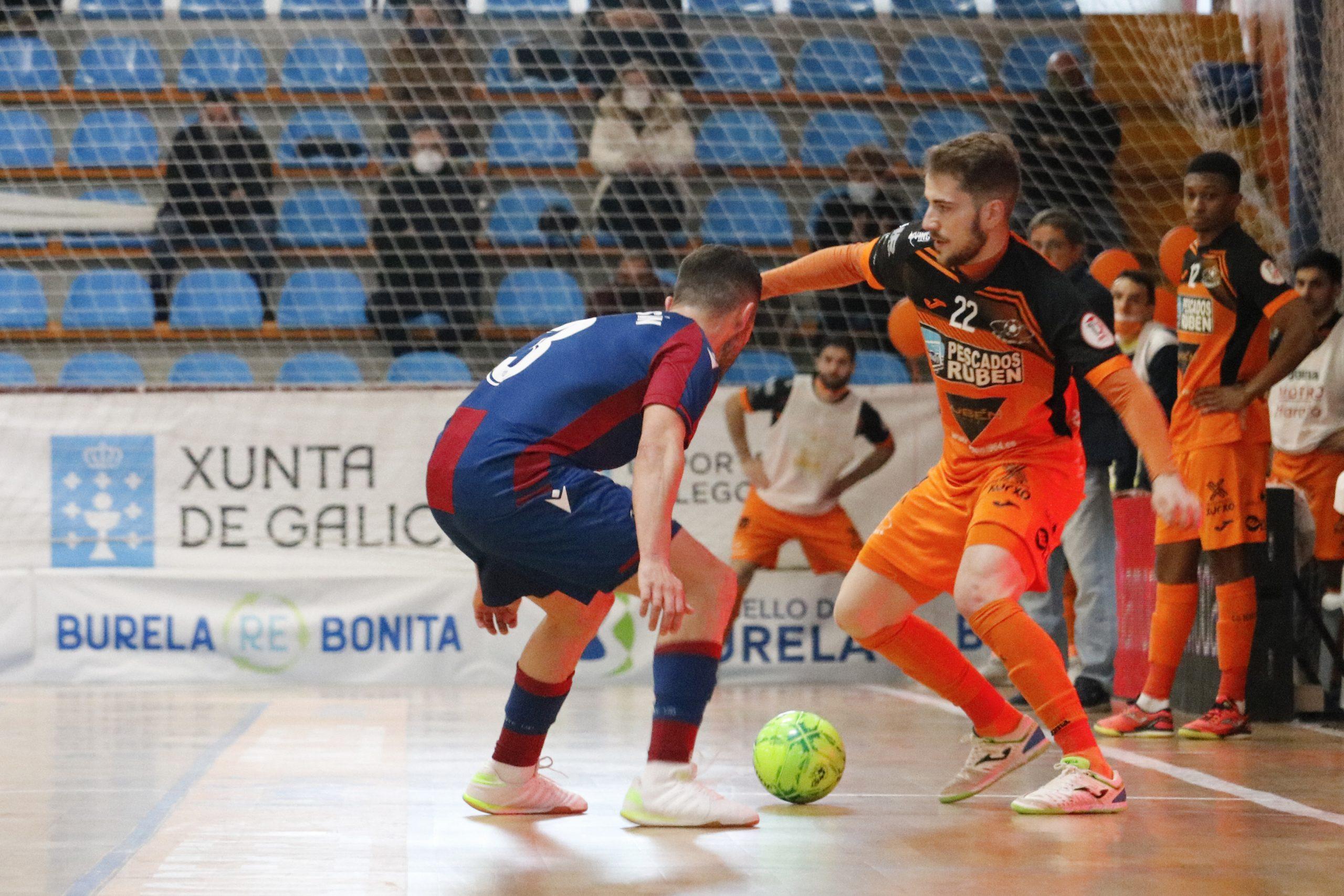 Gran vitoria do Pescados Rubén fronte ao Levante (3-1)
