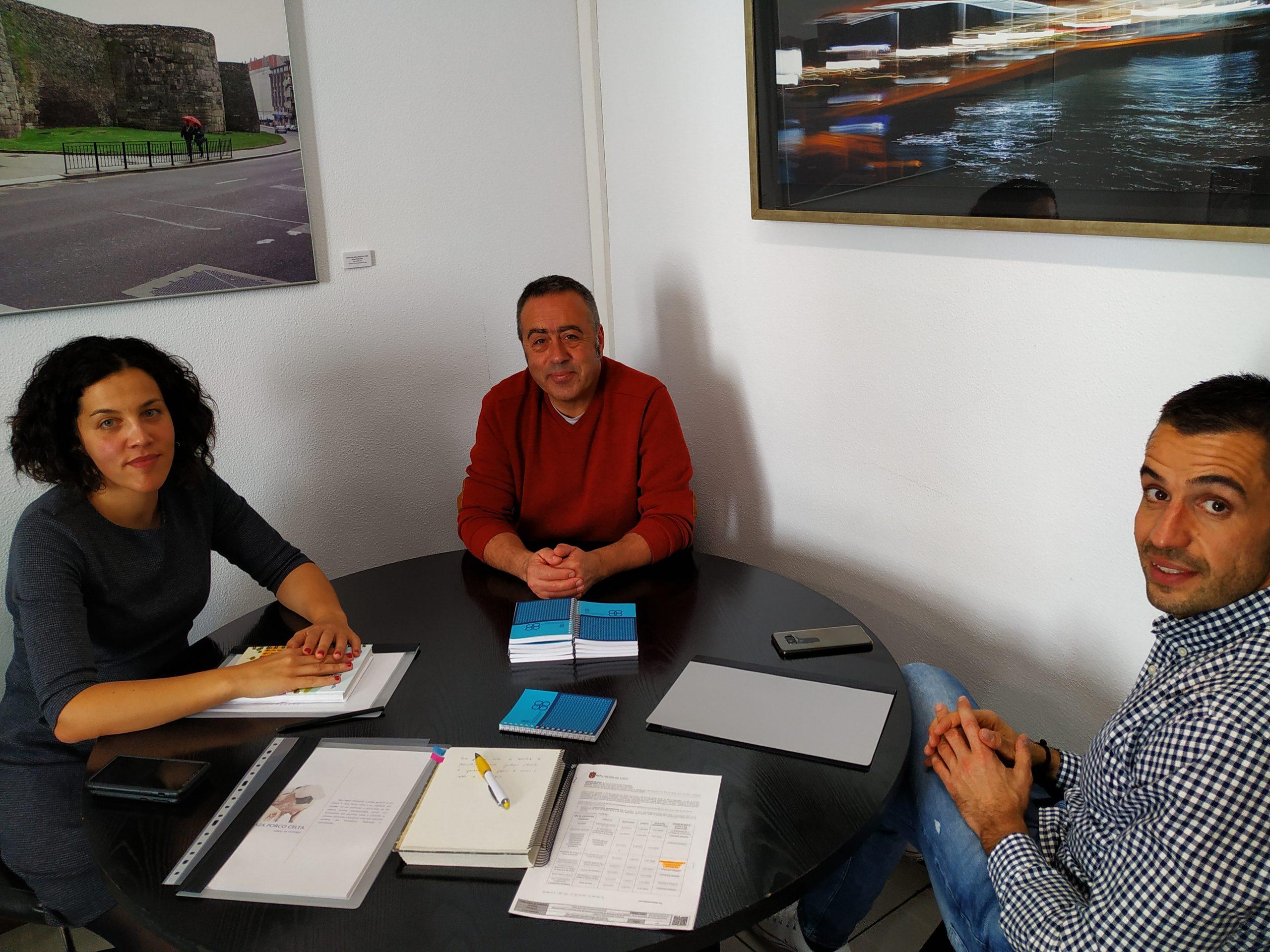 A Xunta e o grupo Lence analizan os apoios á innovación dirixidos á industria alimentaria