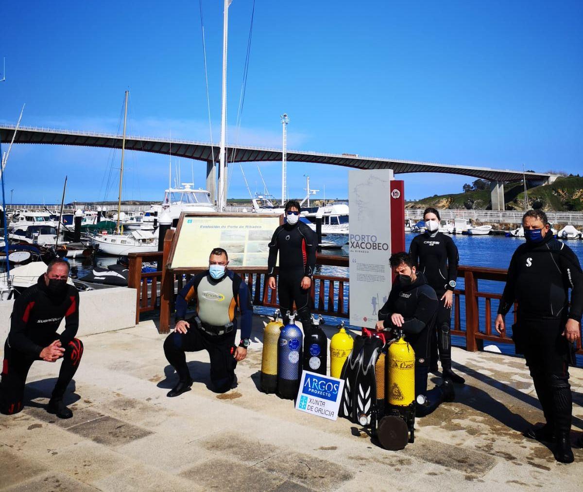 O PP salienta o apoio da Xunta ó proxecto Argos 2 co que se realizará un novo documental sobre o patrimonio subacuático da ría de Ribadeo