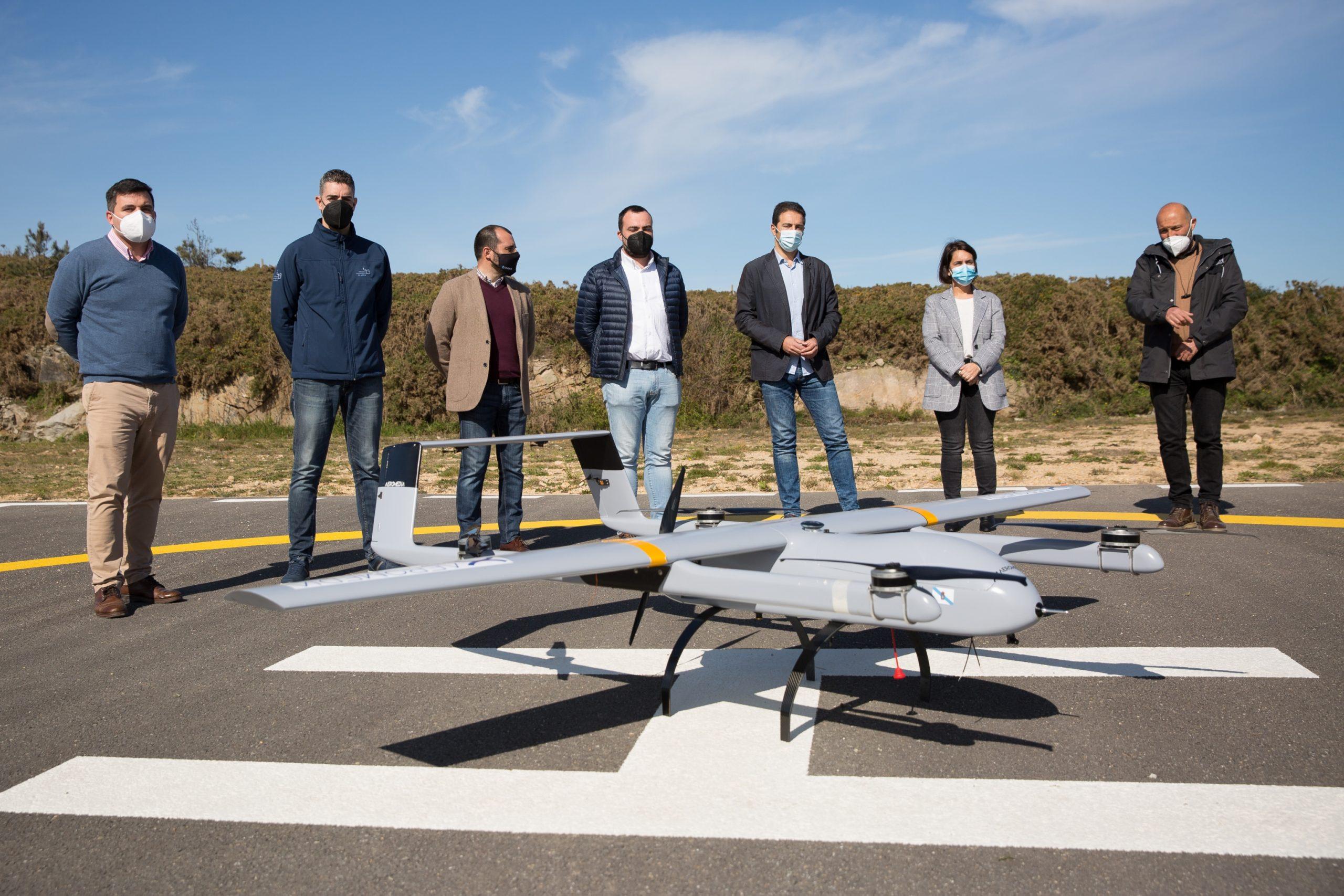 Presentada en Cervo unha innovadora solución para a xestión forestal con drones