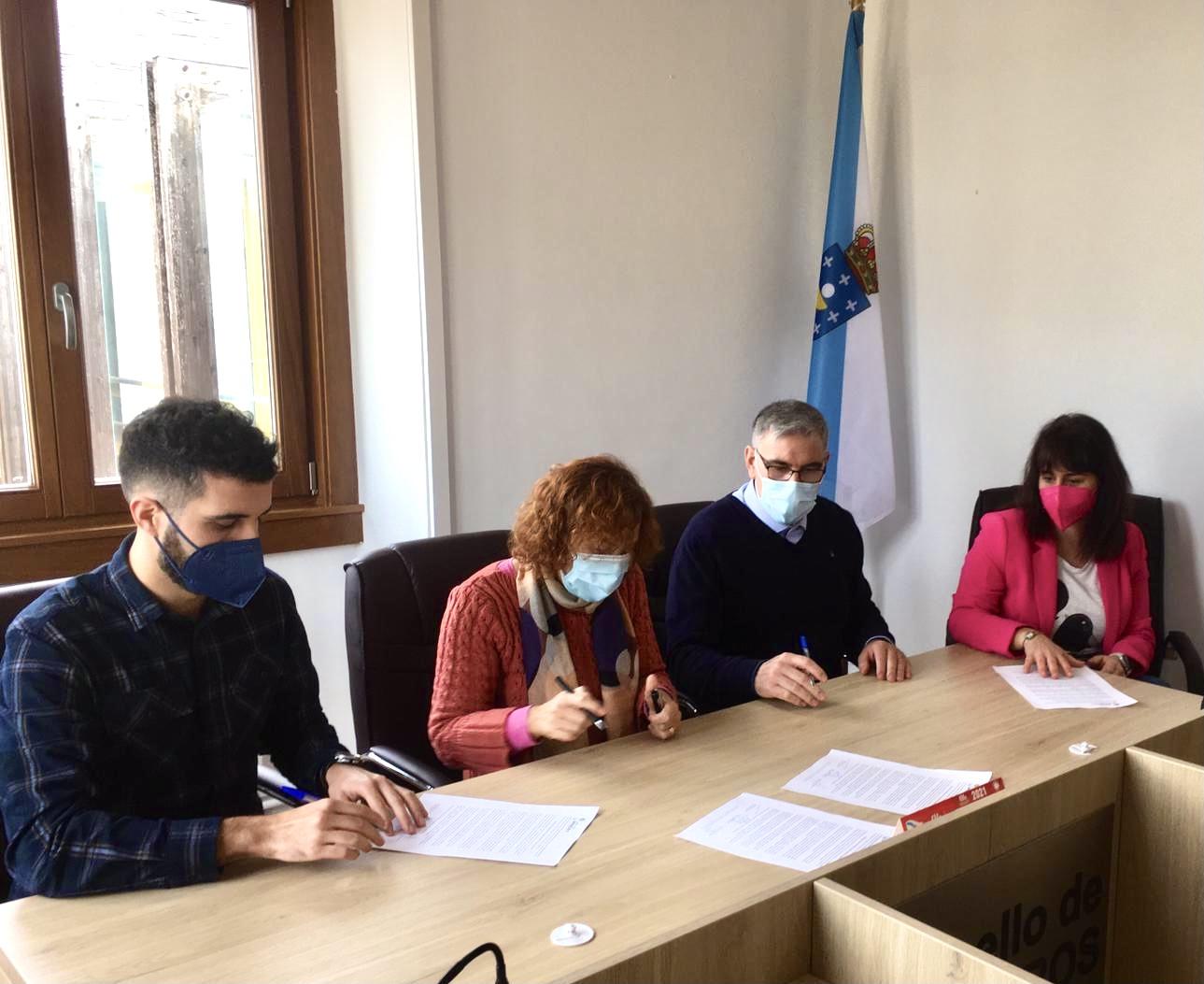 Barreiros aproba unha declaración institucional polo 8M asinada polas tres forzas políticas