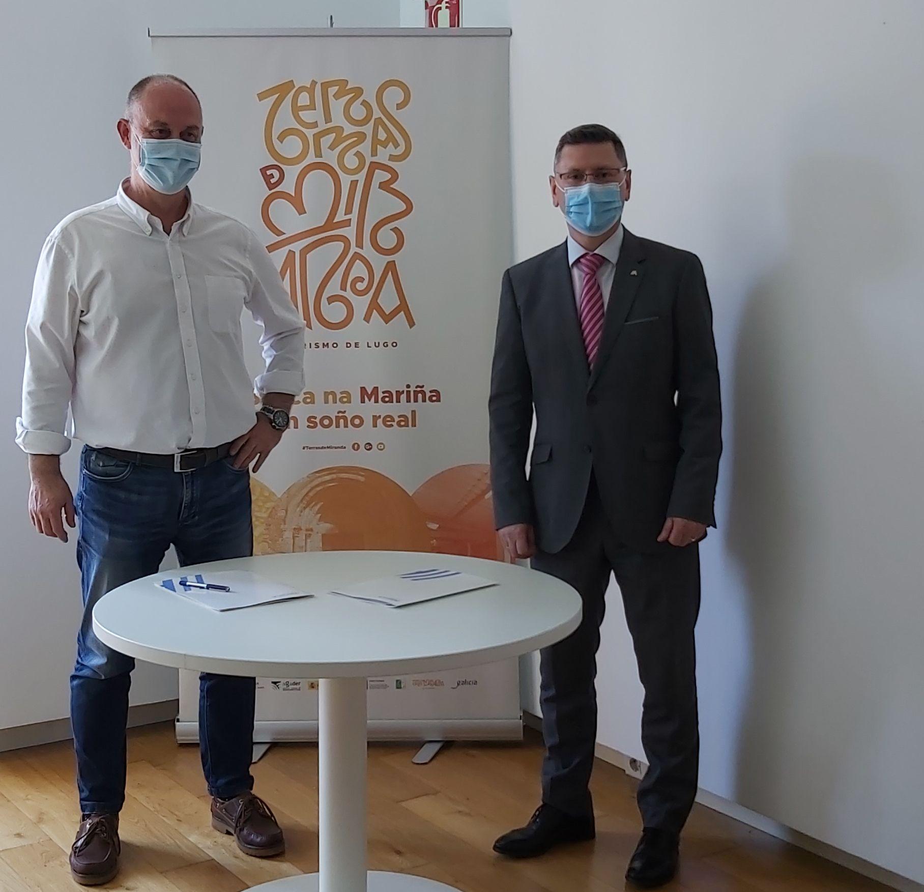 ABANCA e o GDR Terras de Miranda colaboran para impulsar novos proxectos e mellorar a sostenibilidade do medio rural